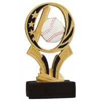 6 inch Baseball Midnight Star Resin