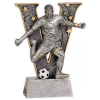 6 inch Male Soccer V Series Resin