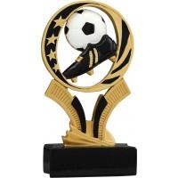 6 inch Soccer Midnight Star Resin