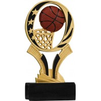 7 inch Basketball Midnight Star Resin