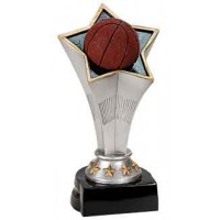 7 inch Basketball Rising Star Resin