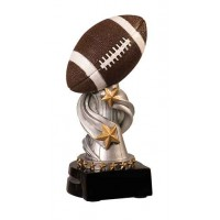 7 inch Football Encore Resin