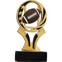 7 inch Football Midnight Star Resin