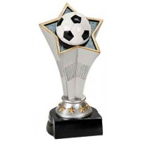 7 inch Soccer Rising Star Resin