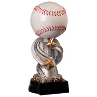 8 1/2 inch Baseball Encore Resin