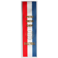 #10 Custom Red, White & Blue Award Ribbon