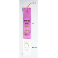 #2 Custom 2 x 12 - 2 Layer Award Ribbon