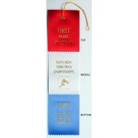 #8 Custom 3 x 12 - 3 Layer Award Ribbon