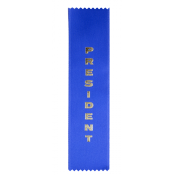 President Award Ribbon
