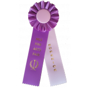 2 Streamer Award Rosettes