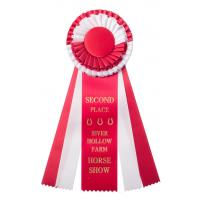 #250 Custom Award Rosette