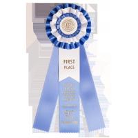 #416 - Custom Award Rosette