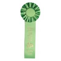 Single Ribbon Award Rosettes