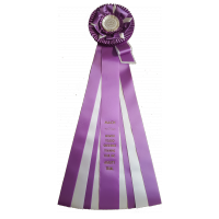 #RSMACH2 - Custom Award Rosette