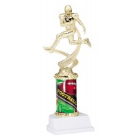 "10"" FOOTBALL MOTION TROPHY"