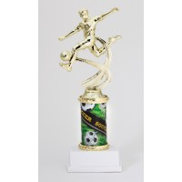 "10"" SOCCER MALE MOTION TROPHY"