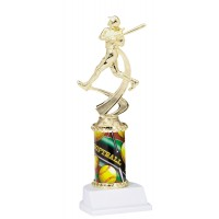 "10"" SOFTBALL MOTION TROPHY"