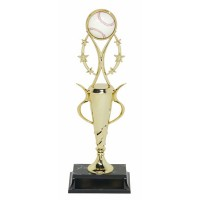 "13"" BASEBALL SPIRAL CUP TROPHY"