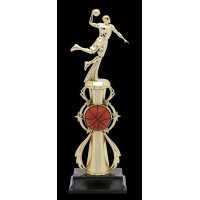 "13"" BASKETBALL MALE COLOR SPORT TROPHY"