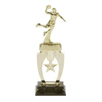 "13"" BASKETBALL MALE STAR RISER TROPHY"