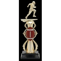 "13"" FOOTBALL COLOR SPORT TROPHY"