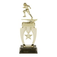 "13"" FOOTBALL STAR RISER TROPHY"