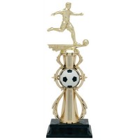 "13"" SOCCER  MALE COLOR SPORT TROPHY"