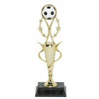 "13"" SOCCER SPIRAL CUP TROPHY"