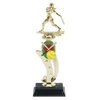 "13"" SOFTBALL COLOR SCENE TROPHY"