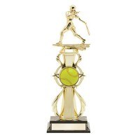 "13"" SOFTBALL COLOR SPORT TROPHY"