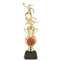 "14"" FEMALE BASKETBALL RADIANCE TROPHY"