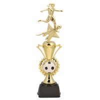 "14"" FEMALE SOCCER  RADIANCE TROPHY"