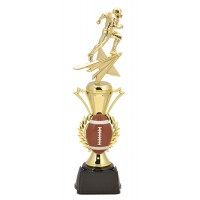 "14"" FOOTBALL  RADIANCE TROPHY"