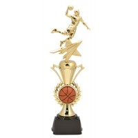 "14"" MALE BASKETBALL RADIANCE TROPHY"