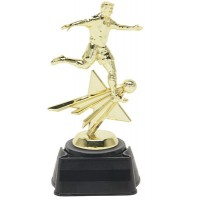 "8 1/4"" SOCCER MALE STAR TROPHY"