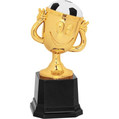 "6"" Soccer Happy Cup Trophy"